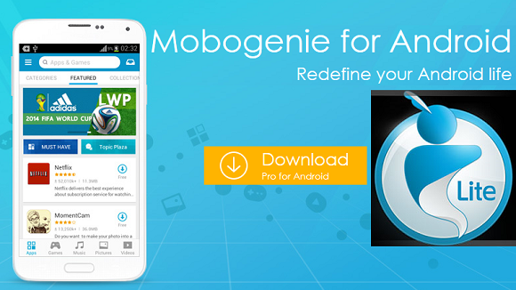Mobogenie for android download.